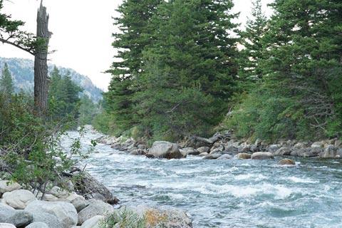 The Stillwater River, Montana