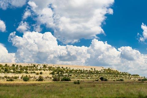 Mine dump, South Africa