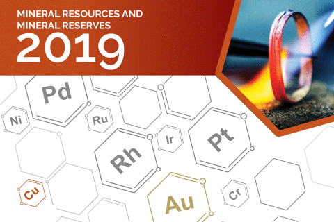 Mineral Resources and Reserves Report 2019 [Cover artwork]